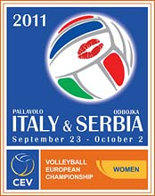 2011 CEV Volleyball European Championship - Women - Final Round