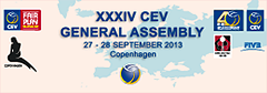 2013 CEV XXXIV General Assembly