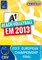 2013 CEV Beach Volleyball European Championship Final