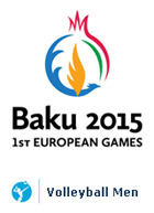 Baku 2015 - 1st EUROPEAN GAMES Volleyball Men